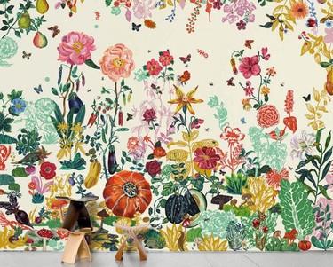 Pon el edén en tu habitación con Jardin de Nathalie Lété