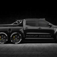 Exy Monster X Concept, el Mercedes Clase X que nunca imaginaste, seis ruedas y listo para circuito
