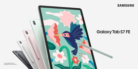 """Galaxy Tab S7 FE llega a México: gran pantalla y S-Pen incluido en la nueva tablet premium """"barata"""" de Samsung, este es su precio"""