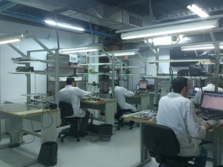 Centro de Samsung desde dentro