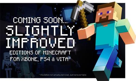 Minecraft para PS4, Xbox One y PS Vita llegará este agosto