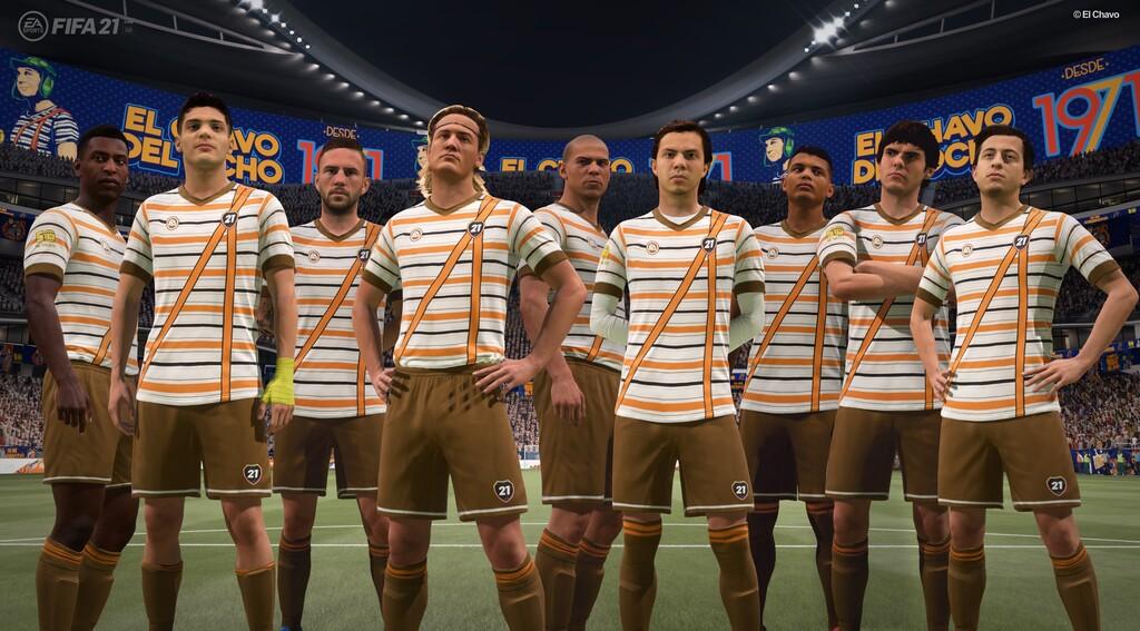 'El Chavo del 8' llega a 'FIFA 21' con un uniforme especial para celebrar los 50 años del personaje