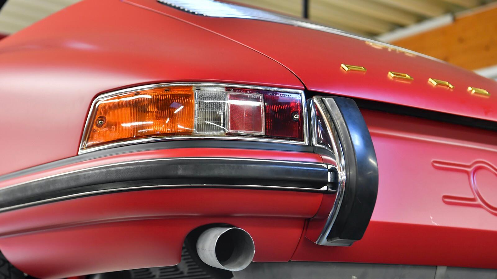 Foto de El Porsche 911 S Targa de 1967 restaurado por Porsche Classic (13/15)