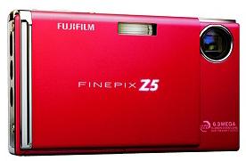 FinePix Z5fd, también con detección facial