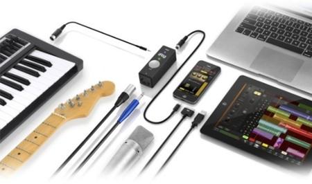 iRig PRO, conecta micrófonos XLR, jack o dispositivos MIDI a tu Mac, iPhone o iPad