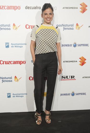 Las famosas españolas se van de fiesta para presentar el Festival de Cine de Málaga