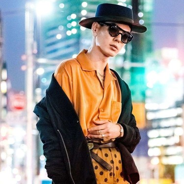 El mejor street-style de la semana: el naranja se impone como el color de transición de temporada