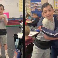 Un niño explica a sus compañeros de clase que tiene autismo, y su reacción emociona a todos
