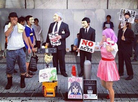 Japón, depositario del ACTA, castigará con 10 años de cárcel a los que suban a la red archivos ilegales