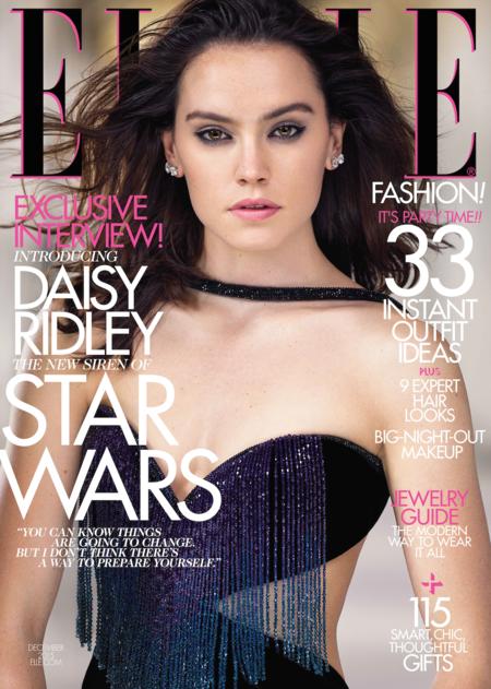 Elle USA: Daisy Ridley