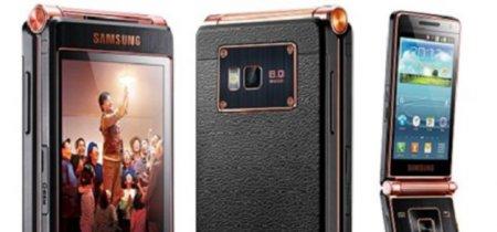 Samsung Galaxy Folder, los teléfonos de tipo 'concha' nunca se han ido del todo