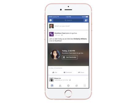 Facebook permite programar las transmisiones de video en vivo a través de LIVE API