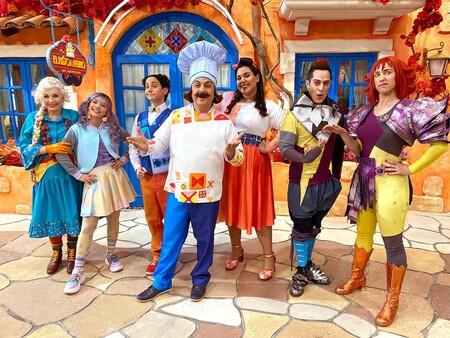 El Ristorantino de Arnoldo la nueva producción de Disney+ que promueve hábitos de alimentación saludable para toda la familia