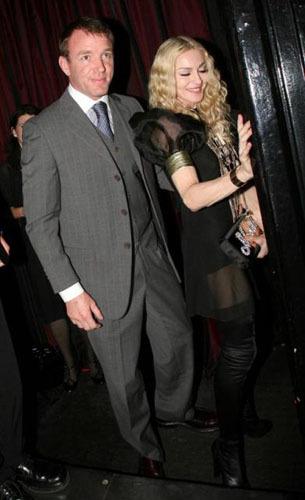 El look de Madonna en su fiesta del 50 cumpleaños