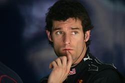 Webber es consciente de sus limitaciones