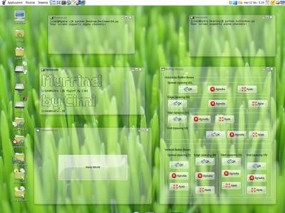 Transparencias por defecto para el entorno de escritorio de Ubuntu 10.04 Lucid Lynx