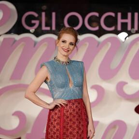 Jessica Chastain llega al Festival de cine de Roma con dos estilismos de día y de noche (y difíciles de olvidar)