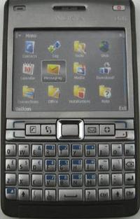 Nokia E61i, actualización a la vista