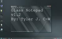 Glass Notepad, un Bloc de notas adecuado a Aero