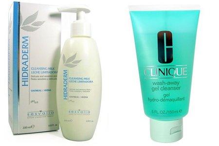 ¿Es mejor el agua y jabón para limpiar la cara que una leche limpiadora?