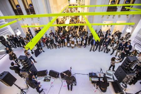 Bershka inauguró esta semana pasada nueva tienda en Valencia y Trendencias estuvo presente