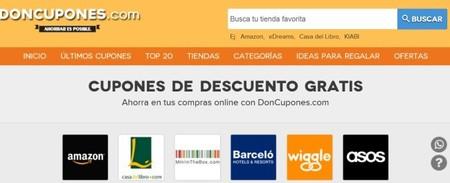 Doncupones, ´ahorrar es posible`. Nueva web para descargar cupones descuento
