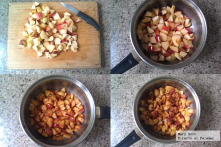 Pasos Manzanas Fritas