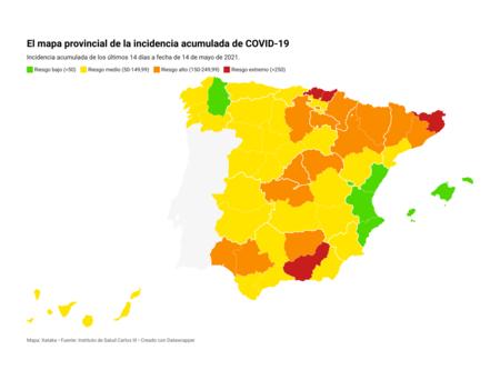 V6rt5 Br Провинциальная карта совокупной заболеваемости Covid 19 Nbsp Br