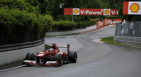 Ferrari reencuentra el camino en Canadá