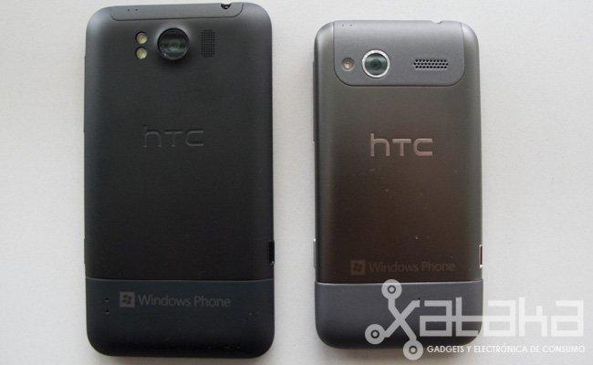 HTC Radar y HTC Titan