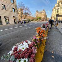 Una jueza investiga si unos bloques de hormigón en la calzada provocaron la muerte de un motorista en Barcelona