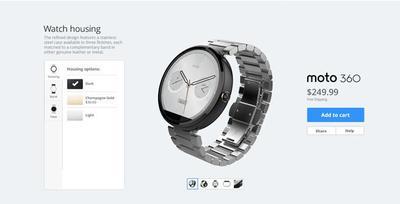 Próximamente, podrás personalizar tu Moto 360 con Moto Maker