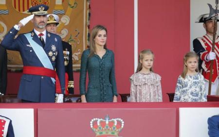 Doña Letizia elige a Felipe Varela en el Día de la Fiesta Nacional