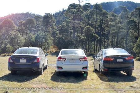 Comparativa Honda City Suzuki Ciaz Nissan Versa Apertura 2