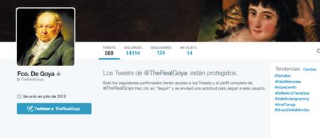 Goya Twitter
