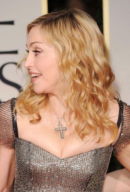 Madonna Globos de Oro 2012
