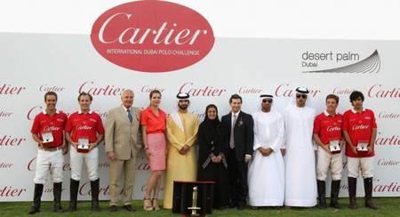 Entrega de premios Dubai polo