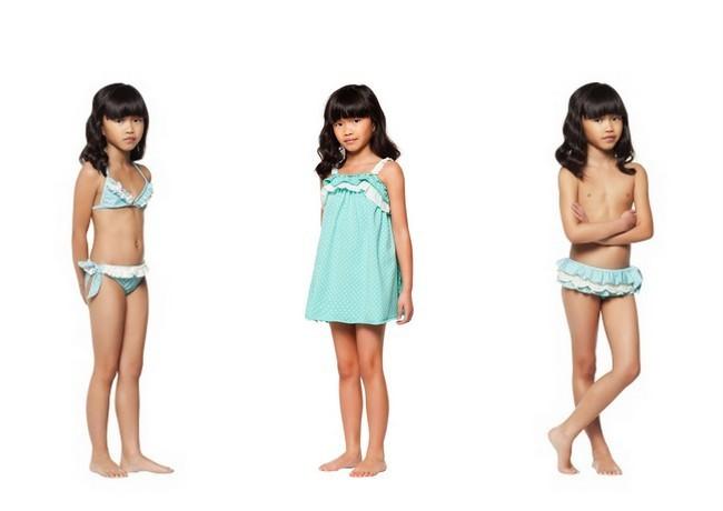Trajes De Baño Verde Agua:La moda baño más divertida y cool para los peques de la casa