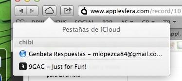safari 6 apple icloud pestañas