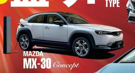 ¡Filtrado! El Mazda MX-30 Concept anticipa el primer auto eléctrico de la marca