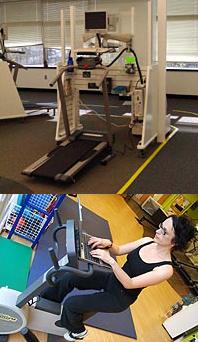 Escritorios-gimnasio para hacer ejercicio mientras trabajas