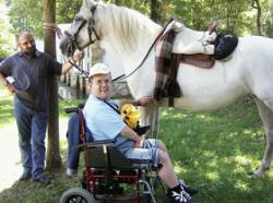 Hipoterapia, terapia del trote del caballo