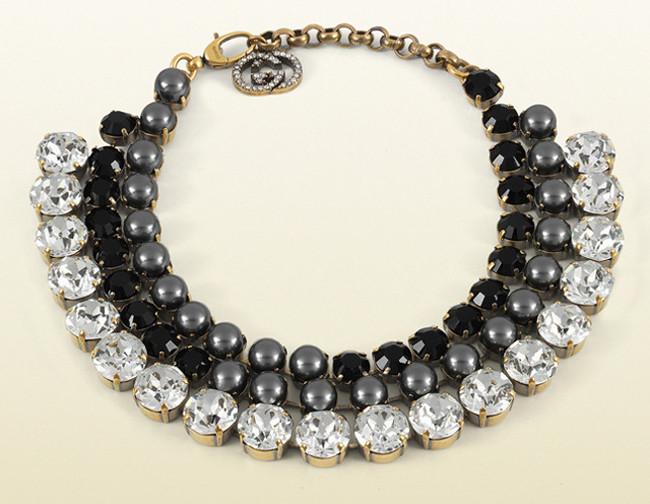 El collar de Gucci de falsas cuentas de cristal y perlas, ¡cómo lo vea Kate Middleton se lo pide!