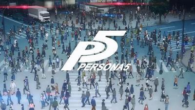 Persona 5 llegara también a PS4