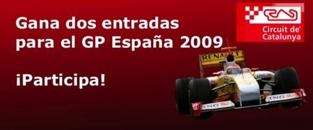 Gana dos entradas para el Gran Premio de España en el Circuit de Catalunya