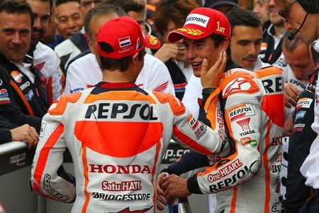 Dani Pedrosa Marc Marquez Gp Holanda Motogp 2014