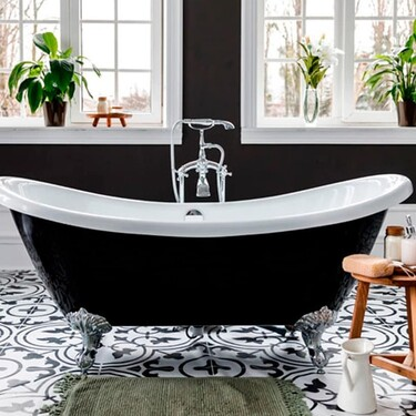 Inspiración en el cuarto de baño; 15 cuartos de baño con bañeras exentas en las que relajarse y tomar un buen descanso