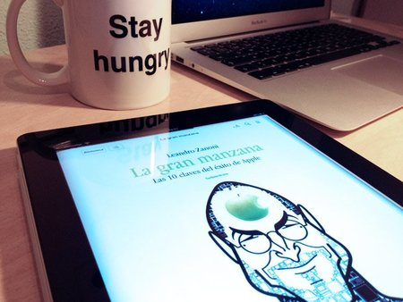 """""""La gran manzana"""", el libro sobre el éxito de Apple es gratuito"""