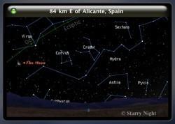 Starry Night Widget: El cielo de cualquier parte del mundo, en tu Dashboard