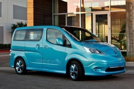 La Nissan e-NV200 a la venta en mayo